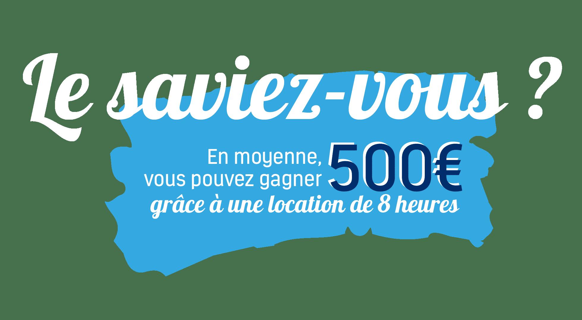 Location de votre logement à l'heure - gagner 500€